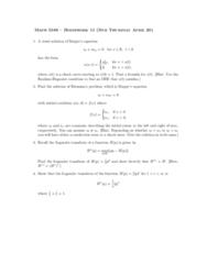 MA 3065 Lecture 11: hw11