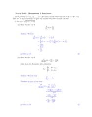 MA 3065 Study Guide - Midterm Guide: Kronecker Delta, Fundamental Solution, Product Rule