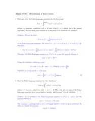 MA 3065 Study Guide - Midterm Guide: 2 On, Biharmonic Equation