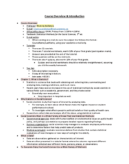 STAB23H3 Lecture Notes - Lecture 1: Abscissa And Ordinate, Simple Random Sample, Statistical Inference