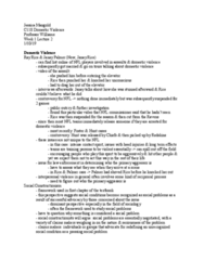 CRM/LAW C118 Lecture Notes - Lecture 2: Ray Rice, Social Constructionism, Contact Sport