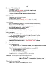 COMM 1300 Lecture Notes - Lecture 1: Nbc, Cbs News, Nielsen Audio