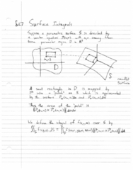 MTH 252 Lecture 34: Ch16.7 - Surface Integrals