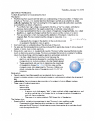 CHEM 130 Chapter Notes - Chapter 1.6-1.7: Henri Becquerel, Alpha Particle, Beta Particle