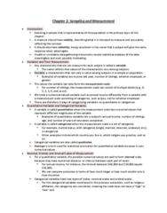 STAB23H3 Chapter Notes - Chapter 2: Level Of Measurement, Socalled, Longitudinal Study