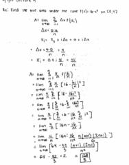 MATH 2B Lecture 3: The Definite Integral