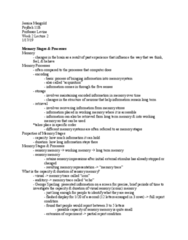 PSY BEH 11B Lecture Notes - Lecture 4: George Sperling, Iconic Memory, Long-Term Memory