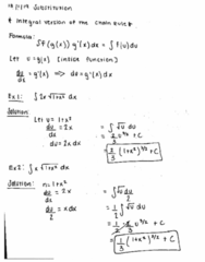 MATH 2B Lecture 6: Substitution