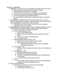 GEB 3375 Chapter Notes - Chapter 1: International Monetary Fund, World Trade Organization, General Agreement On Tariffs And Trade