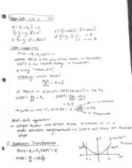 ECON 103 Lecture 5: Econ 103 Lec 5 1/22