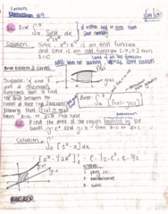 MATH 2B Lecture 9: 44370-Lecture 9 Notes-Area Between Two Curves