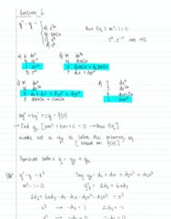MATH 256 Lecture 6: MATH 256 L6