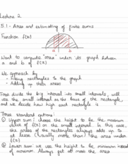 MAT 21B Lecture Notes - Lecture 2: Riemann Sum, Yi I, Thx