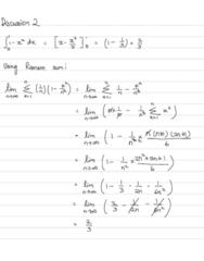 MAT 21B Lecture Notes - Lecture 2: Riemann Sum