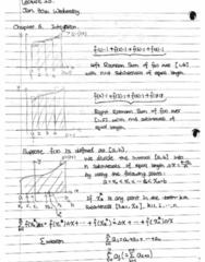 MATH 105 Lecture 13: Integration