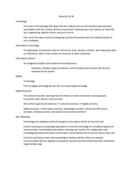 MIS 302F Lecture Notes - Lecture 1: Enterprise Information System, Digital Economy, Industrial Arts
