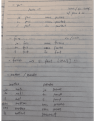 French 1002 Midterm: test4 verbs