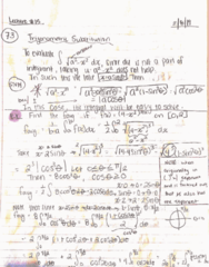 MATH 2B Lecture 15: 44370-Math 2B Lecture 15 Notes-Trigonometric Substitutions